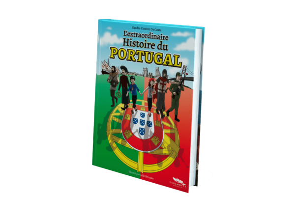 Couverture du livre l'extraordinaire histoire du Portugal